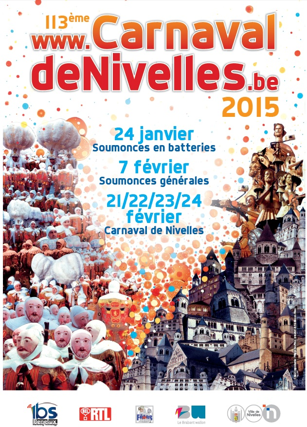 Affiche carnaval 2015
