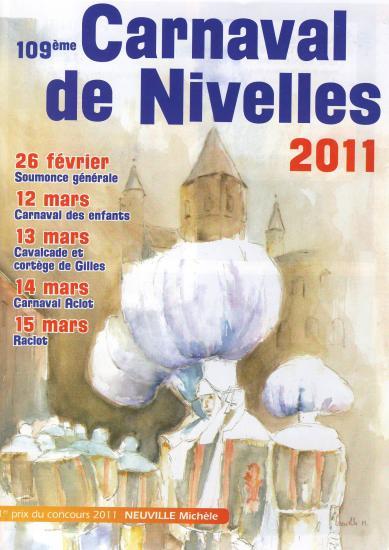 Les Affiches de carnaval de Nivelles