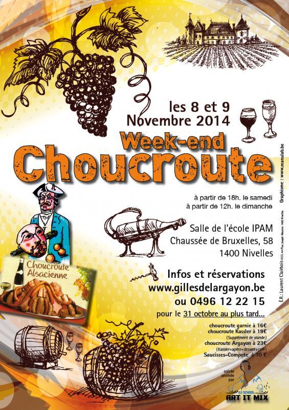 Choucroute affiche 2014